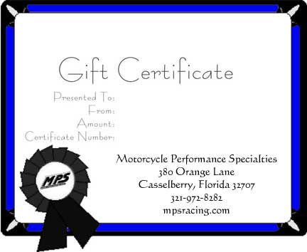 MPS Gift Certificate