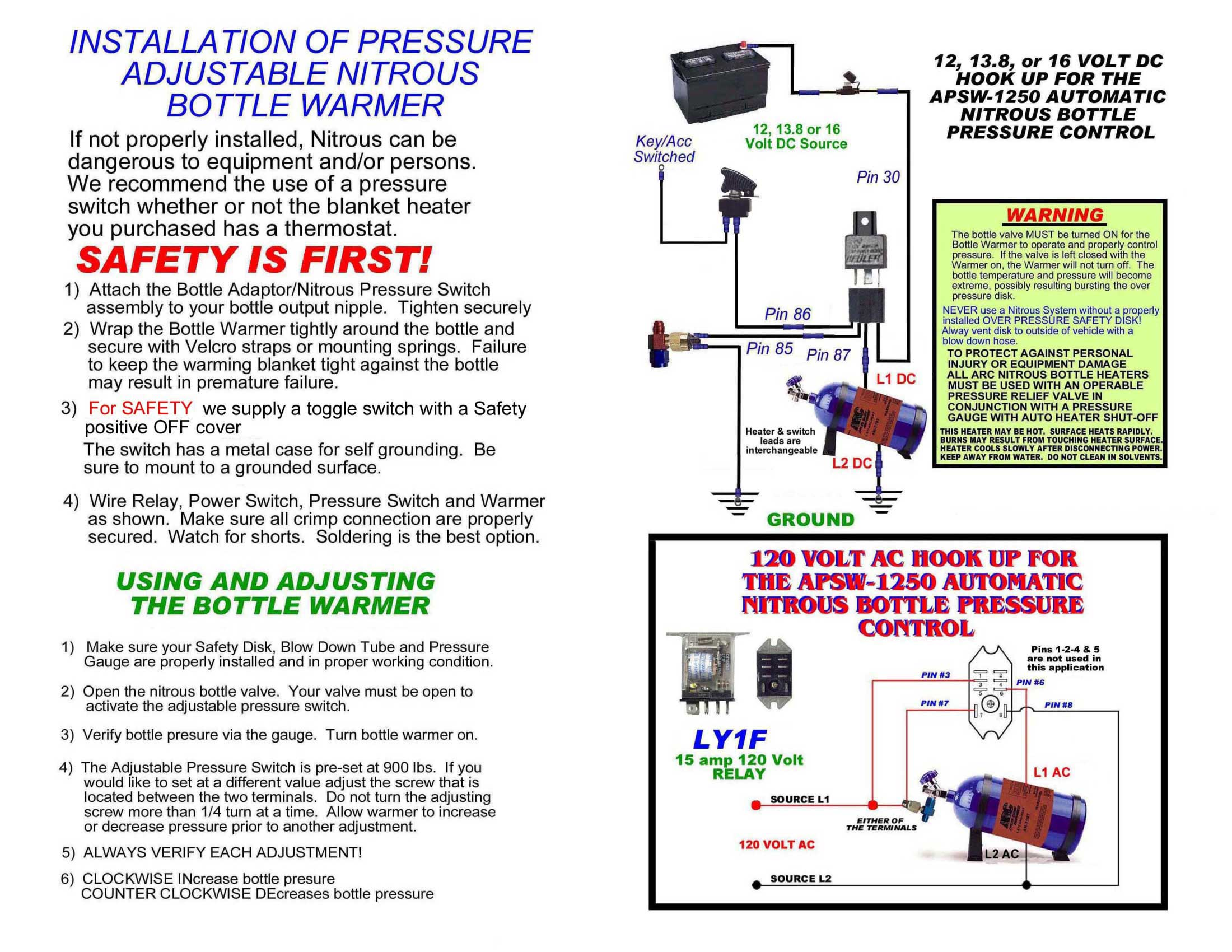 Mps Racing Instructions 4 Pin Relay Terminals Click For Larger Image