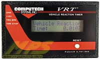 Vehicle Reaction Timer
