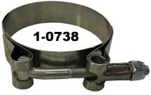 "MPS Clamp T-Bolt Exhaust 2.44"" - 2.75"""