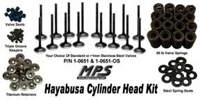 MPS Hayabusa Cylinder Head Kit