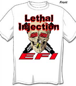 MPS Lethal Injection Tee Shirt