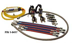 MPS Steel Line Wet Nitrous Kit