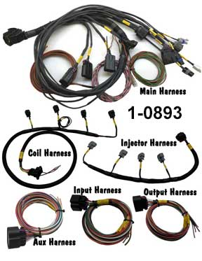 MPS MaxxECU Sport Terminated Harness