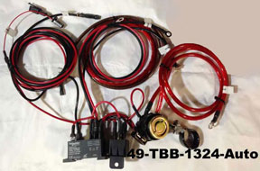 24 volt start system harness