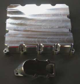 MPS Billet Aluminum Low Profile Oil Pans and Baffles - Suzuki
